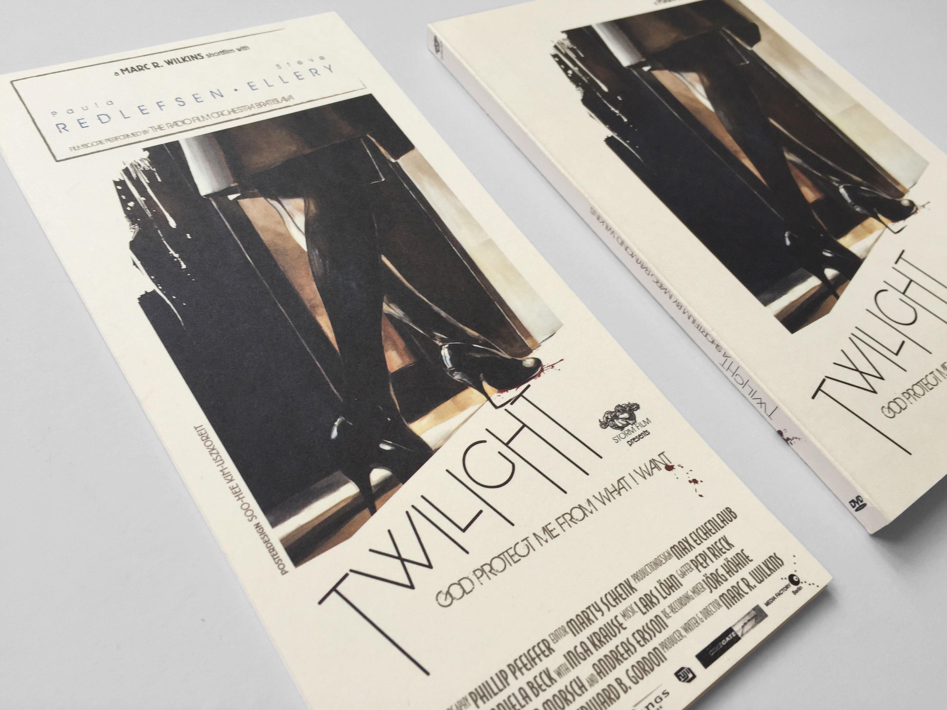 Twilight DVD Flyer