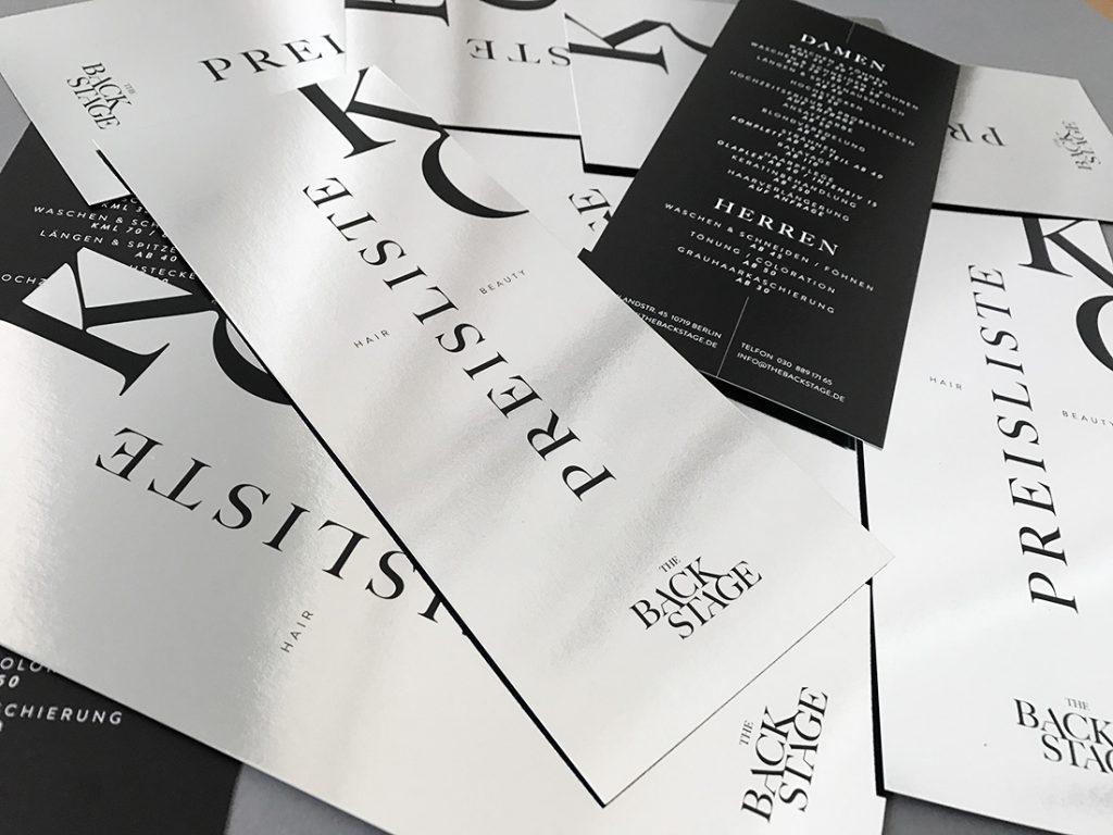 Backstage Berlin Preisliste