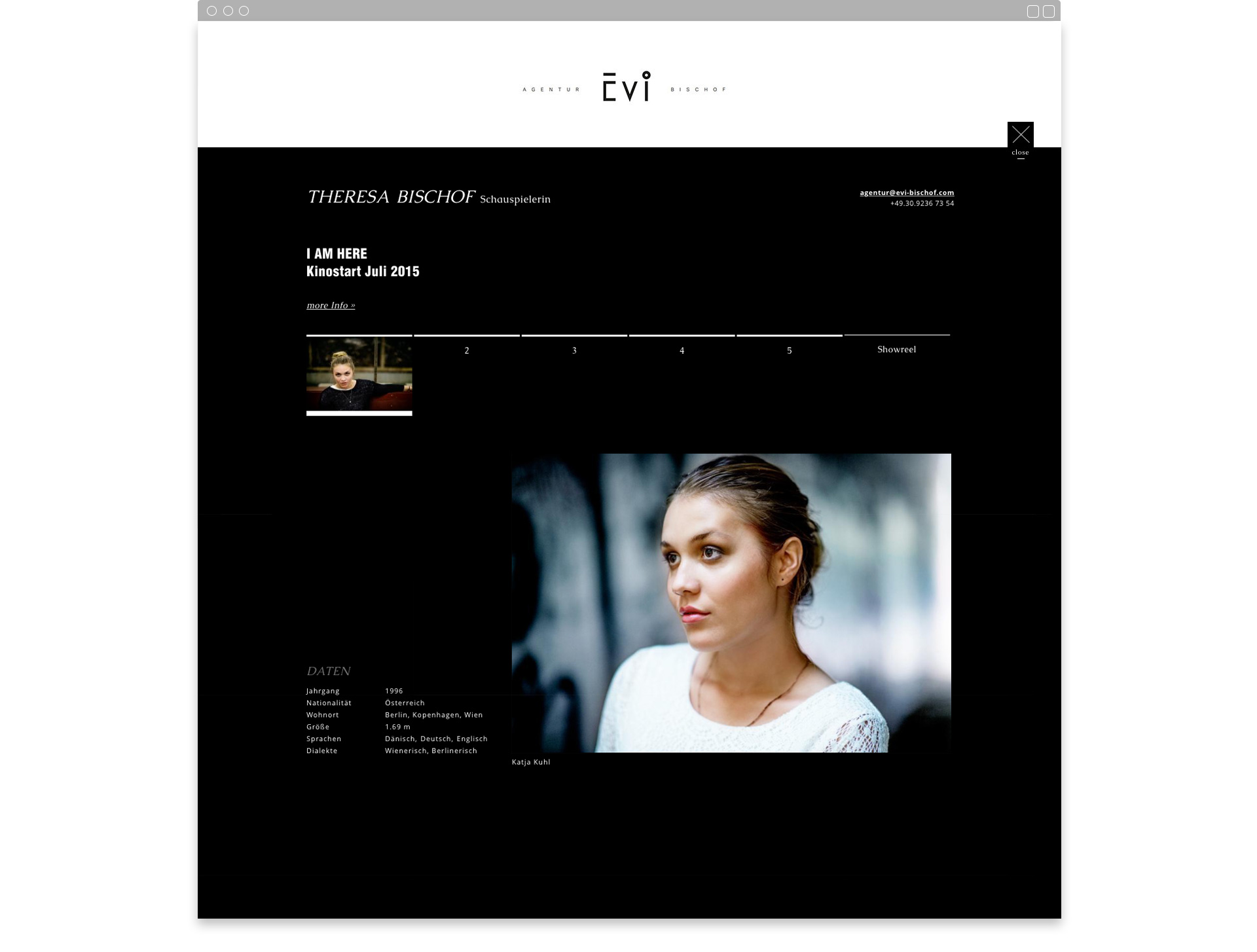 Evi Bischof Website