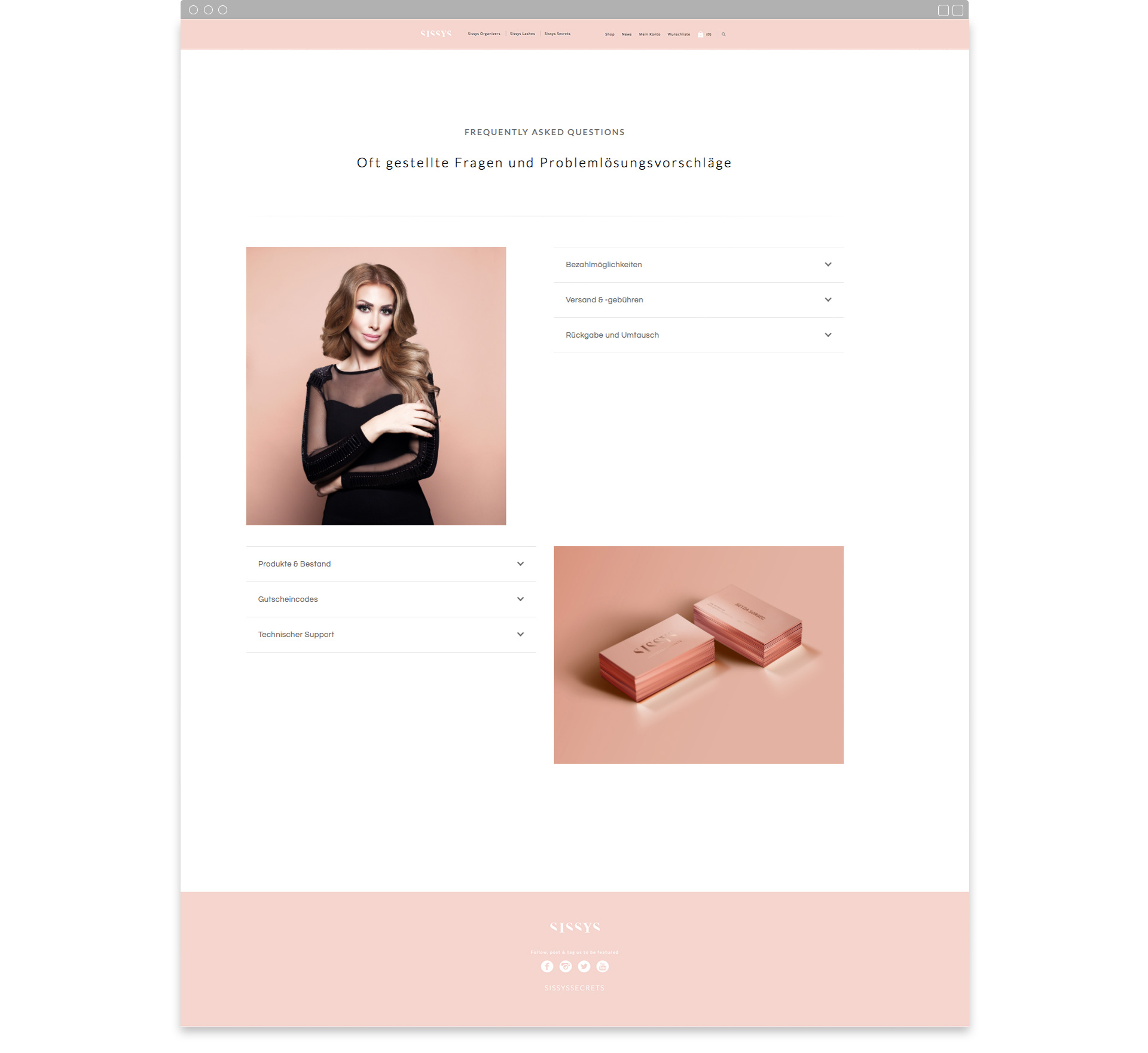 Sissys Secrets Online Shop